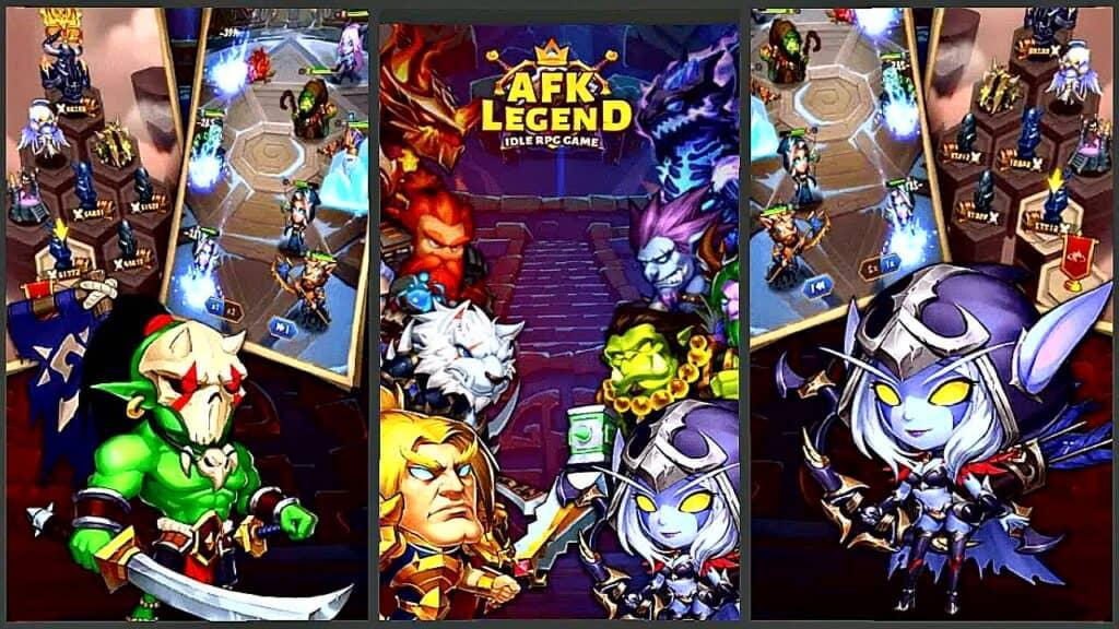 Games like AFK Arena AFK Legend