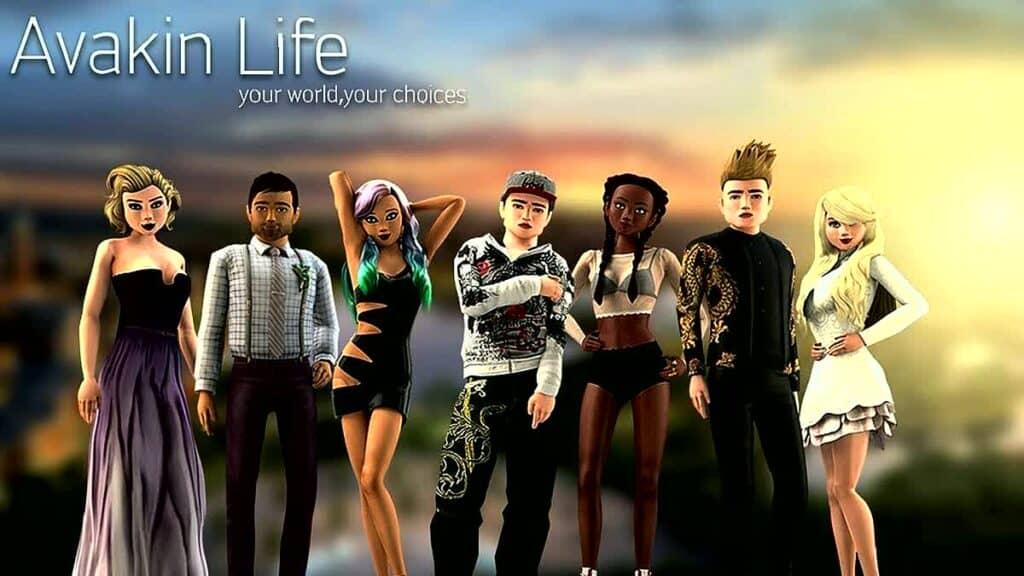 Games like BitLife - Avakin Life