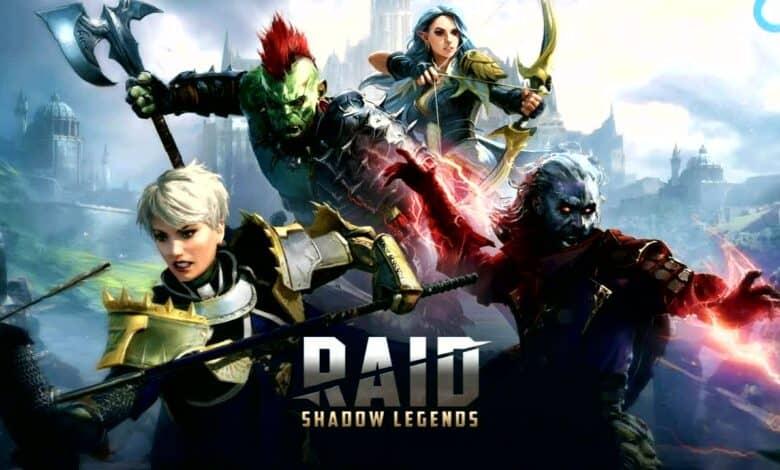 Games like Raid Shadow Legends