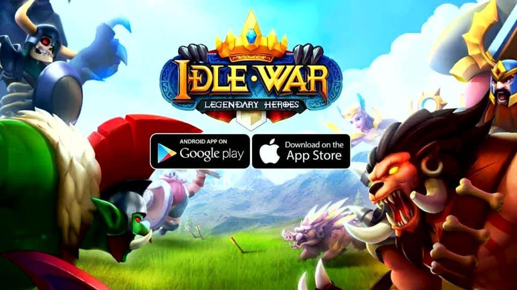 Games like Idle Heroes - Idle War
